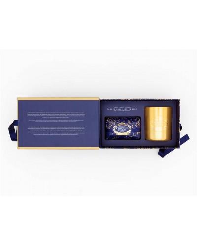 Conjunto de Sabonete e Vela PORTUS CALE Festive Blue
