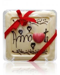 Azulejo de Chocolate Personalizado AMO-TE