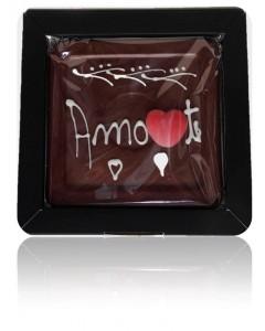 Azulejo de Chocolate Personalizado AMO-TE em Caixa Oferta