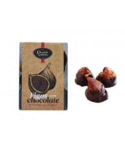 Figos com Chocolate Negro e Vinho do Porto 200gr