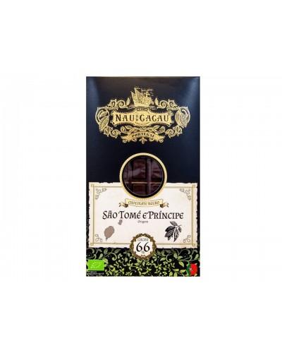 Chocolate Negro 66% Cacau NAU DO CACAU 80gr