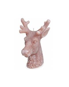 Vela Decorativa MANULENA Cabeça de Veado Castanha